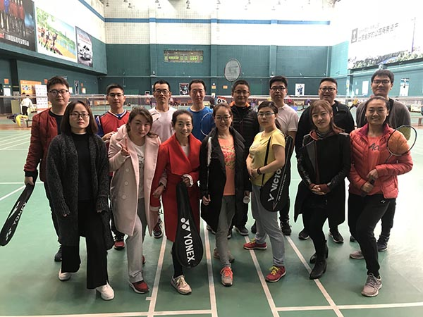 KOSUN Badminton enthusiasts