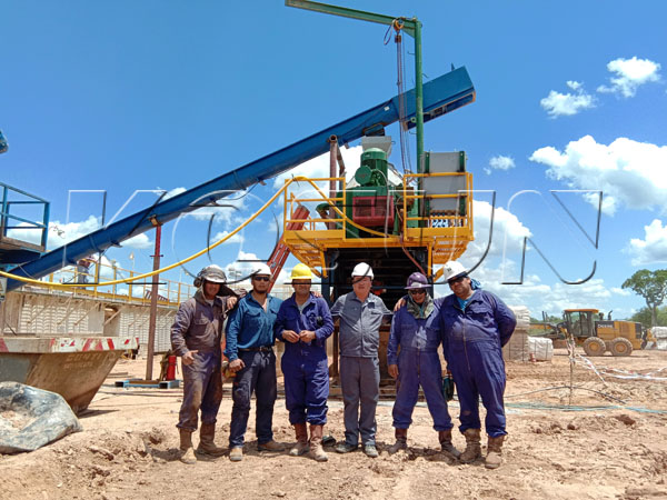 Solids control system and drilling waste management site in Argentina