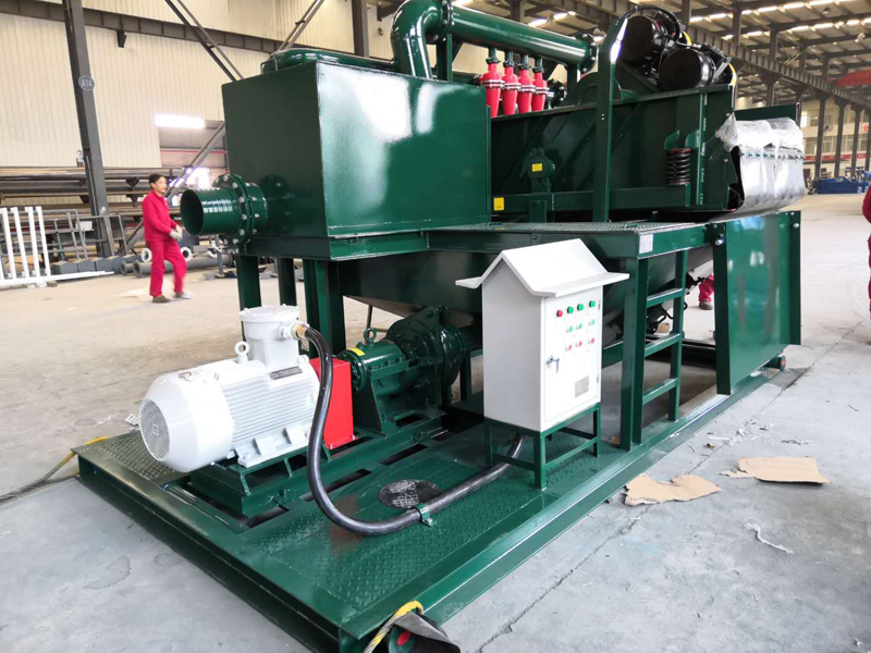 Slurry Treatment System for Pipe Jacking Construction