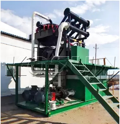 Drilling fluid cleaner system