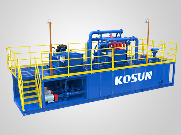 KSMR-500 Mud Circulation, Recovery and Purification system