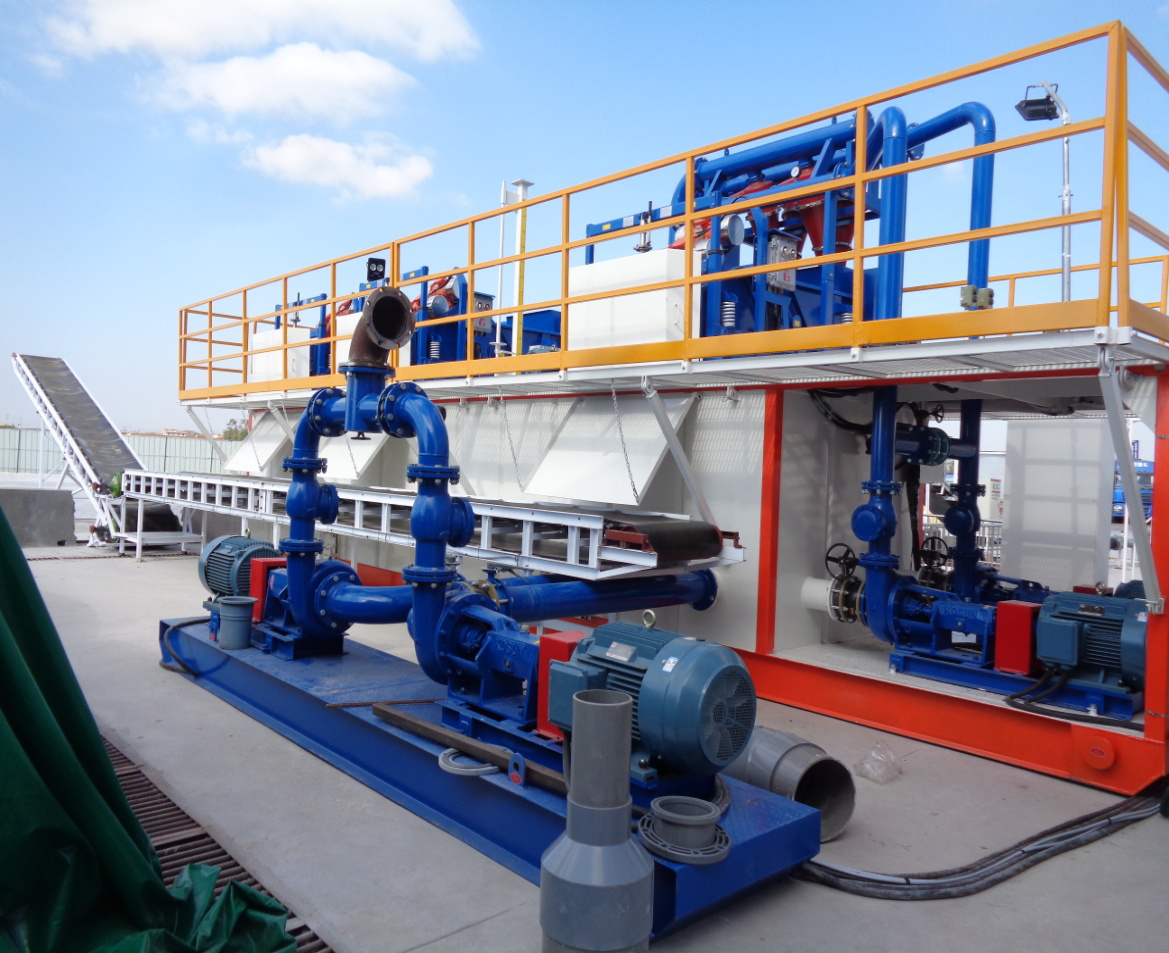 Dredge Slurry Separation System