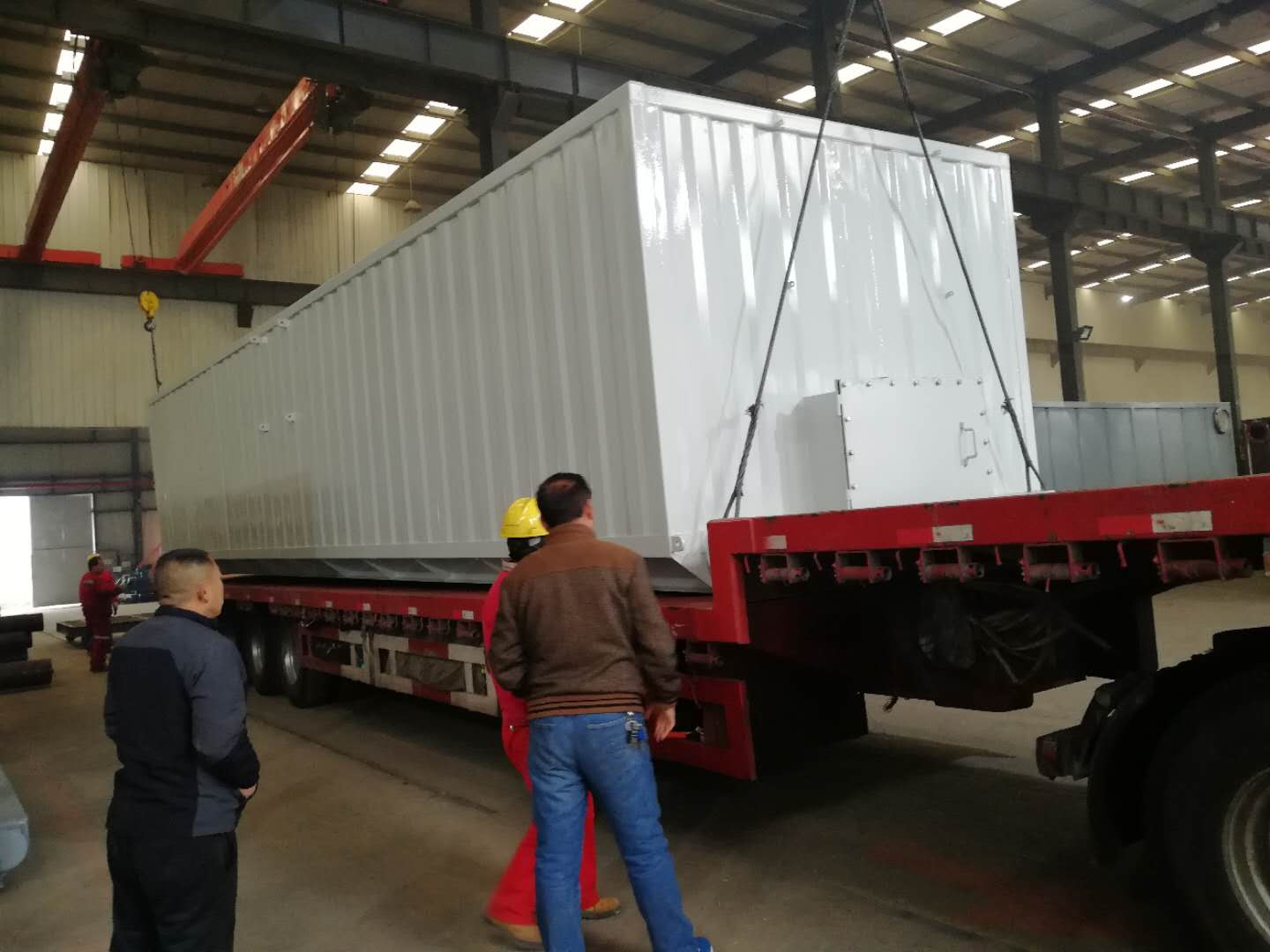 The second batch of solid control system supporting equipment of CCK project has been successfully delivered