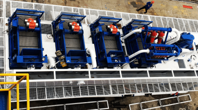 KOSUN Solids Control Systems for CNOOC Offshore Drilling Artificial Isl